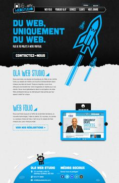Nice | Unique Web Design, OLA Web Studio #webdesign #design (http://www.pinterest.com/aldenchong/)