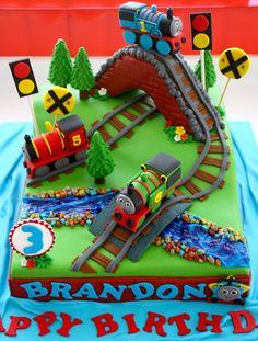 Thomas The Train Cake Kit D