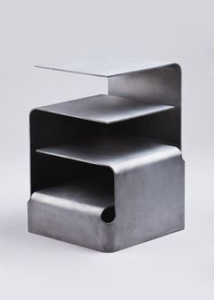 Nils Henrik Stensrud. recycled aluminium side table.