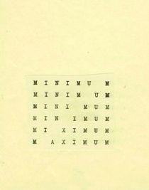 "Stanisław Drożdż, ""Optimum (Minimum-Maximum)"", 1967"