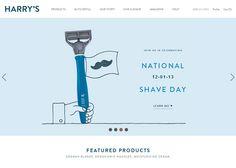 Harry's   CSS Website