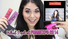 PHAMExpo 2014 HAUL! | Too Faced, City Color Cosmetics, Makeup Geek & More