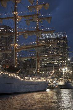 Ships at Inner Harbor.