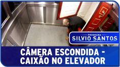 Programa Silvio Santos - Câmera Escondida - Caixão no Elevador