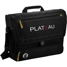 Promotional Products Ideas That Work: Owl® 51% recycled deluxe compu-messenger bag. Get yours at www.luscangroup.com