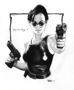 Trinity - The Matrix - Travis Charest