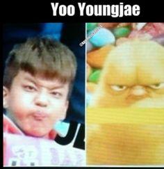 Yoo youngjae Bap funny kpop B.A.P