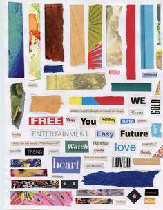 Free download ~ printable collage art sheet Carta Collage, Letter Collage, Collage Sheet, Wall Collage, Collage Ideas, Digital Collage, Magazine Collage, Collage Design, Scrapbook