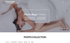 Photo Magic is a bright and creative invention for photographers.  It is a powerful, genuine, perspective, beautiful, free responsive photography WordPress theme.   The customizing option is very easy and comfortable that anybody can edit.   You can show your best images, collections, and an attractive portfolio.