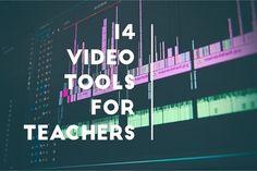 14 Applicazioni educativeper creare / editare video -14 Web Based Video Tools for Teachers - More Than A Tech | Tecnologie Educative - TIC…