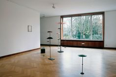 Installation view 'Faltgestalt', Museum Haus Esters, Krefeld, 2006