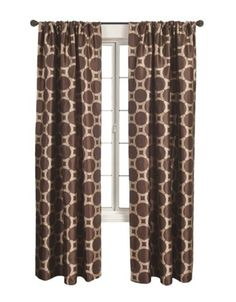 Livingroom curtains - bold n brown