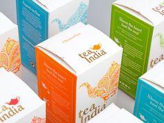 Tea India — The Dieline - Branding & Packaging Design