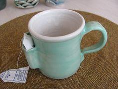 Tea Cup Ceramic Mug  Handmade Pottery Mug by SharsArtPottery, $20.00