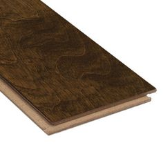 Style Selections 5-in W Prefinished Birch Locking Hardwood Flooring (Brown)