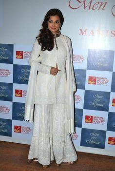 Dia Mirza in Manish Malhotra