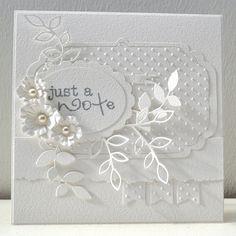 Kort, Blomster, Memorybox, Stamp'in Up, Sizzix, Panduro Hobby, Card, Flowers, HTTP://HappyMadedk.blogspot.dk