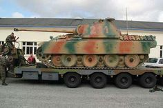 The Panther Ausf A, from the saumur tank museum, France.