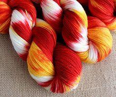 Fawkes the Phoenix - Bungalow Gnome - Fingering / Sock Yarn