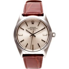 CMT Fine Watch and Jewelry Advisors Rolex Stainless Steel Airking With Silver Dial $3750