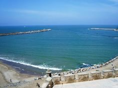 The beach of #Essaouira has everything a traveller look for in a beach. It is quiet, serene, good for a swim and sun bath.