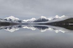 Lake McDonald 2/17/16 | NPS / Jacob W. Frank | Glacier National Park, Montana | pinned by haw-creek.com