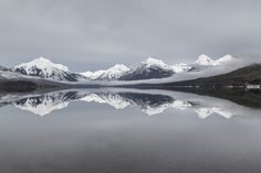 Lake McDonald 2/17/16 | NPS / Jacob W. Frank | Glacier National Park, Montana | pinned by haw-creek.com