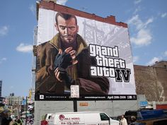 Almost a decade ago Niko Bellic moved to Liberty City. Took this while visiting NYC in Grand Theft Auto 4, Grand Theft Auto Series, Visiting Nyc, Saints Row, Rockstar Games, A Decade, Best Games, Gta, Card Games