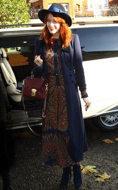 Photos: 10 Best Dressed: Week of November 28, 2011 – Vogue// Florence Welsh in Vilshenko dress