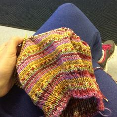 Discontinued color 59 WIP in Knitcol yarn