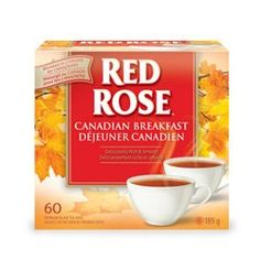 Red Rose tea Canadian Breakfast. I have been drinking this. It is rather delicious.