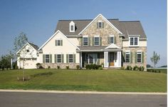 New home by Garman Builders in the Wrendale Estates neighborhood in Hummelstown, PA. It was showcased in the 2009 Harrisburg Parade of Homes.