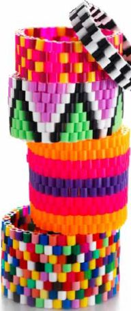 Guide til monstre i HAMA perler Hama Beads, Fuse Beads, Pony Bead Patterns, Beading Patterns, Diy For Kids, Crafts For Kids, School Age Crafts, Pony Beads, Crafts To Make