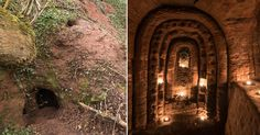 Rabbit hole leads to 700-year-old secret Knights Templar cave network    Read more: http://metro.co.uk/2017/03/08/rabbit-hole-leads-to-700-year-old-secret-knights-templar-cave-network