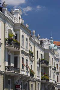 Old town of Belgrade, Serbia,