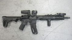 Aimpoint with magnifier