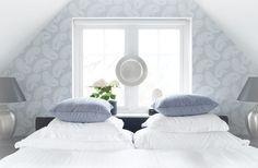 Inred ditt sovrum med mönster och färg - Sköna hem
