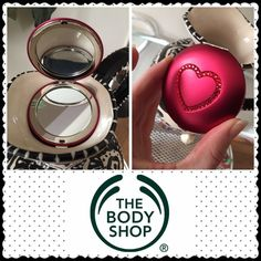 NEW The Body Shop mirror NEW compact mirror- perfect for Valentines Day! Limited edition. The Body Shop Makeup Brushes & Tools
