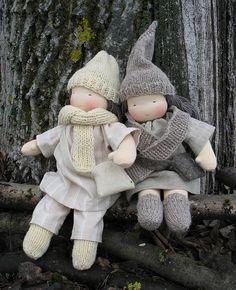 Knecht Ruprecht Root Childen Dolls in the Waldorf Tradition