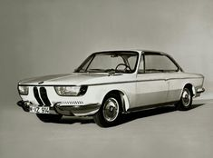 BMW 2000 CS: The future arrived early. Not the future we actually got, unfortunately. The BMW design guru of late would have done well to ponder this carefully. So many years wasted.