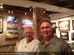 Look who is at the Old Town Gallery!
