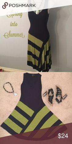 Spense asymmetric dress Start the summer with a cute asymmetric look.  (Item 39) Spense Dresses Asymmetrical