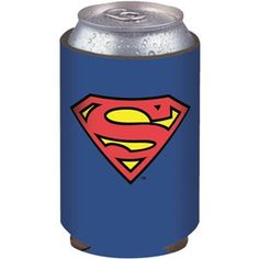 Superman Logo Koozie