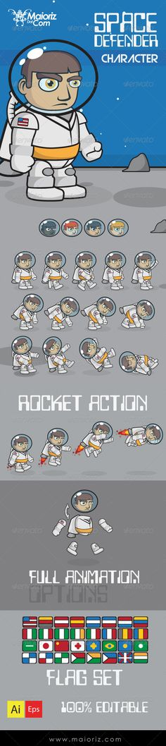 Realistic Graphic DOWNLOAD (.ai, .psd) :: http://jquery.re/pinterest-itmid-1008592613i.html ... Space Defender Character ...  Spritesheet, animated, animated Spritesheet, animated character, animation, astronaut, astronauta, character, character Spritesheet, defender, man, men, space, space travel, sprites, uniform, walking  ... Realistic Photo Graphic Print Obejct Business Web Elements Illustration Design Templates ... DOWNLOAD :: http://jquery.re/pinterest-itmid-1008592613i.html
