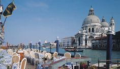 a view from The Hotel Gritti Palace (Venice, Italy)
