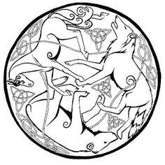 celtic animals