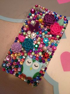 Owl decoden. I really want to try making my own decoden phone case!