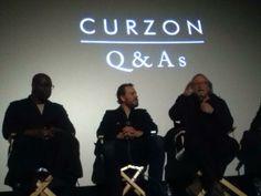 PatriciaHetherington @phetheringtonnz  Steve McQueen, DP Sean Bobbit, & Michael Fassbender @Ruth H. Mitchell Cinemas Soho Q+A on 12 Years A Slave
