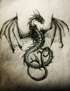 Dragon by LimonTea on DeviantArt Fire Dragon, Dragon Bones, Dream Catcher Sketch, Dragon Sketch, Dragon Drawings, Got Dragons, Dragon Knight, Dragon Pictures, Dragons