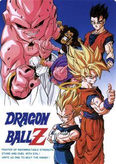DRAGON BALL Z SHITAJIKI ドラゴンボールZ 下敷き / 悟空&悟飯&ベジータ&ミスター・サタン&魔人ブウ(善・悪)本体サイズ :約180×250mm (B5判)Published by Animetopia / Bird Studio / Toei Animation /Fuji TV